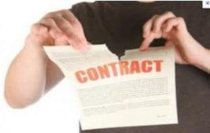 Résilier un contrat monétique