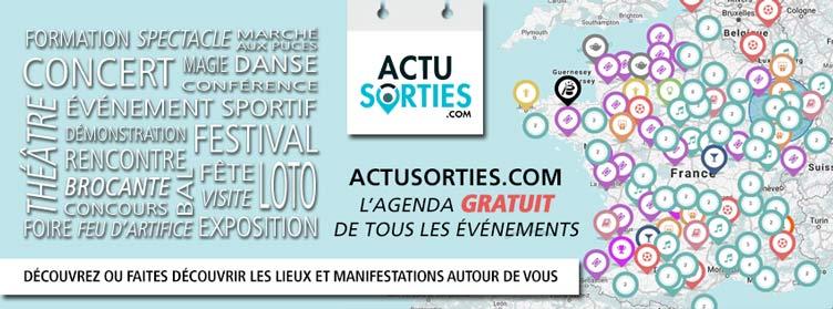 ActuSorties.com, l'annuaire de vos sorties