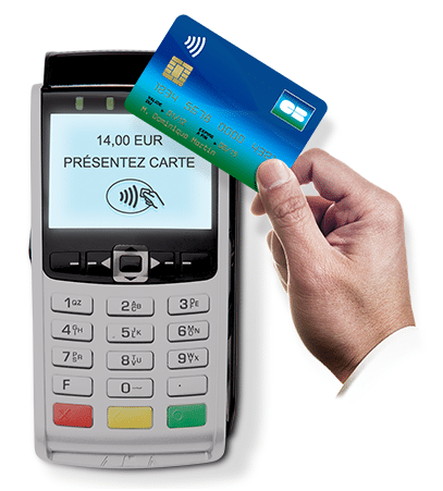 Terminal de paiement sans contact